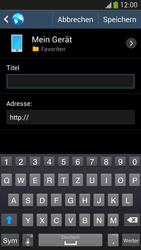 Samsung Galaxy S 4 Active - Internet und Datenroaming - Verwenden des Internets - Schritt 11