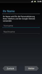 Sony Xperia S - Apps - Einrichten des App Stores - Schritt 5