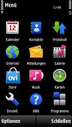 Nokia 5230 - Apps - Konto anlegen und einrichten - 1 / 1