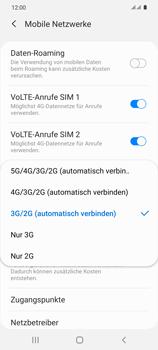 Samsung Galaxy S20 5G - Netzwerk - So aktivieren Sie eine 4G-Verbindung - Schritt 7