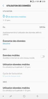 Samsung Galaxy A7 (2018) - Internet - activer ou désactiver - Étape 7