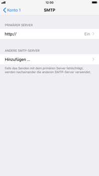 Apple iPhone 8 Plus - E-Mail - Konto einrichten - 17 / 27