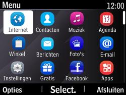 Nokia Asha 210 - Internet - Internetten - Stap 2