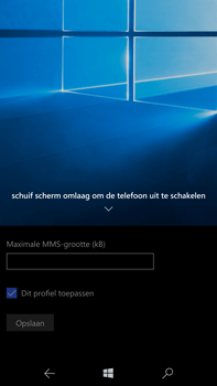 Microsoft Lumia 950 XL - MMS - handmatig instellen - Stap 15