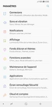Samsung Galaxy Note 8 - Internet - Désactiver du roaming de données - Étape 4