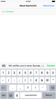 Apple iPhone 6 Plus mit iOS 9 - MMS - Erstellen und senden - Schritt 10