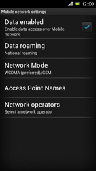 Sony Xperia J - MMS - Manual configuration - Step 6