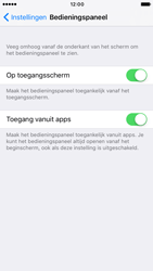 Apple Apple iPhone 7 - iOS features - Bedieningspaneel - Stap 4