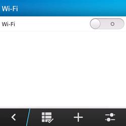 BlackBerry Q5 - Wifi - handmatig instellen - Stap 6