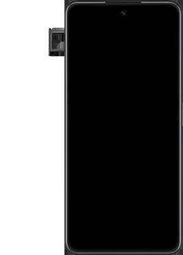Huawei P Smart 2021 - Premiers pas - Insérer la carte SIM - Étape 6