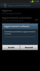 Samsung Galaxy S III - Software - Installazione degli aggiornamenti software - Fase 11