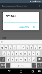 Sony Xperia XZ (F8331) - Android Nougat - MMS - Handmatig instellen - Stap 13