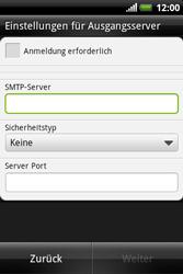 HTC A310e Explorer - E-Mail - Konto einrichten - Schritt 11