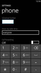 Samsung I8750 Ativ S - Voicemail - Manual configuration - Step 7