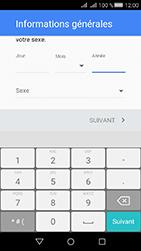Huawei Y6 II Compact - Applications - Créer un compte - Étape 7