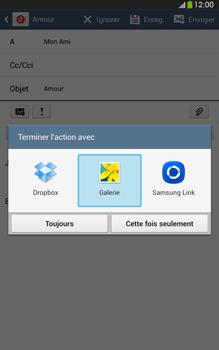 Samsung Galaxy Tab 3 8 4G - E-mails - Envoyer un e-mail - Étape 13