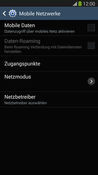 Samsung Galaxy Note III LTE - Internet und Datenroaming - Prüfen, ob Datenkonnektivität aktiviert ist - Schritt 6