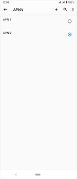 Sony Xperia 1 - Internet - handmatig instellen - Stap 21