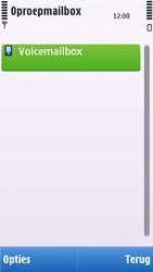 Nokia C6-00 - Voicemail - handmatig instellen - Stap 8