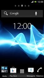 Sony ST26i Xperia J - Messagerie vocale - configuration manuelle - Étape 1