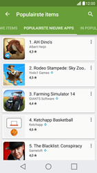 LG LG X Screen - apps - app store gebruiken - stap 11