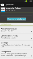 Samsung Galaxy Note II - Applications - Installation d