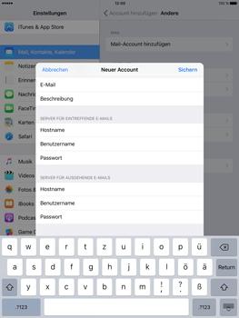 Apple iPad Pro 9.7 inch - E-Mail - Konto einrichten - 1 / 1
