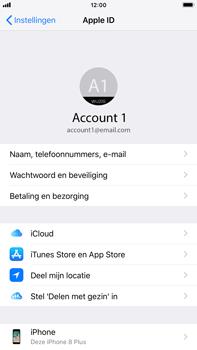 Apple iPhone 8 Plus - iOS 12 - Beveiliging en privacy - zoek mijn iPhone activeren - Stap 9