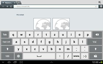Samsung Galaxy Tab 2 10.1 - Internet e roaming dati - Uso di Internet - Fase 5