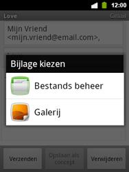 Alcatel OT-903 - E-mail - Hoe te versturen - Stap 10