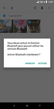 Alcatel 3L - Photos, vidéos, musique - Envoyer une photo via Bluetooth - Étape 10