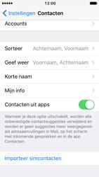 Apple iPhone SE met iOS 10 (Model A1723) - Contacten en data - Contacten kopiëren van SIM naar toestel - Stap 4