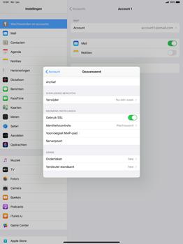Apple iPad Pro 12.9 inch 4th generation (2020) (Model A2232) - E-mail - Instellingen KPNMail controleren - Stap 21