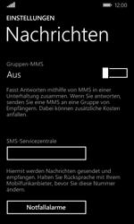 Nokia Lumia 635 - SMS - Manuelle Konfiguration - Schritt 8