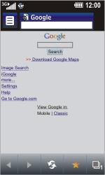 LG GD900 Crystal - Internet - Internet browsing - Step 7