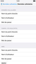 Apple iPhone 6 iOS 9 - Internet et roaming de données - Configuration manuelle - Étape 8