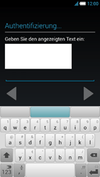 Alcatel Idol S - Apps - Konto anlegen und einrichten - 20 / 25