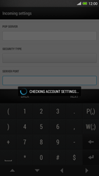 HTC One Max - E-mail - manual configuration - Step 12