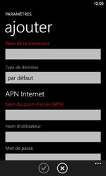 Nokia Lumia 920 LTE - Internet - configuration manuelle - Étape 11