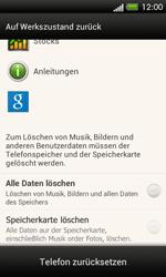 HTC One SV - Gerät - Zurücksetzen auf die Werkseinstellungen - Schritt 6