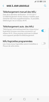 Samsung Galaxy S8 Plus - Logiciels - Installation de mises à jour - Étape 6