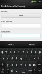 HTC Desire 601 - E-Mail - Konto einrichten - Schritt 8