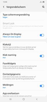 Samsung Galaxy A50 - Beveiliging - stel in of wijzig pincode voor je toestel - Stap 5