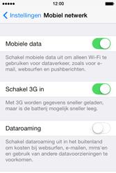 Apple iPhone 4 S - iOS 7 - Internet - Internet gebruiken in het buitenland - Stap 6
