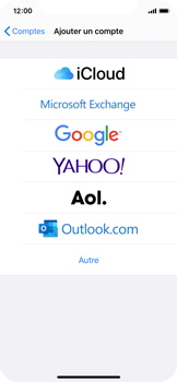 Apple iPhone X - iOS 13 - E-mail - Configuration manuelle (outlook) - Étape 5