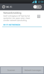 LG P700 Optimus L7 - WiFi - Handmatig instellen - Stap 6