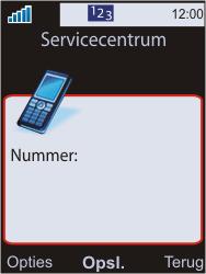 Sony W595 - SMS - Handmatig instellen - Stap 8