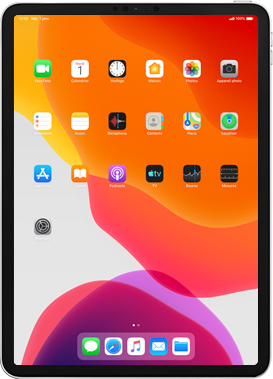 Apple iPad Pro 11 (2018) - iPadOS 13 - Applications - Configuration de votre store d