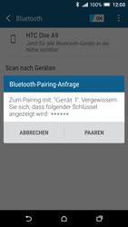 HTC One A9 - Bluetooth - Geräte koppeln - Schritt 9