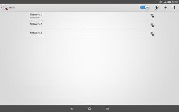 Sony Xperia Tablet Z2 4G (SGP521) - WiFi - Handmatig instellen - Stap 8